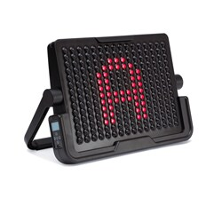 LightAid displays numbers and letters allowing literacy and math lessons for older students